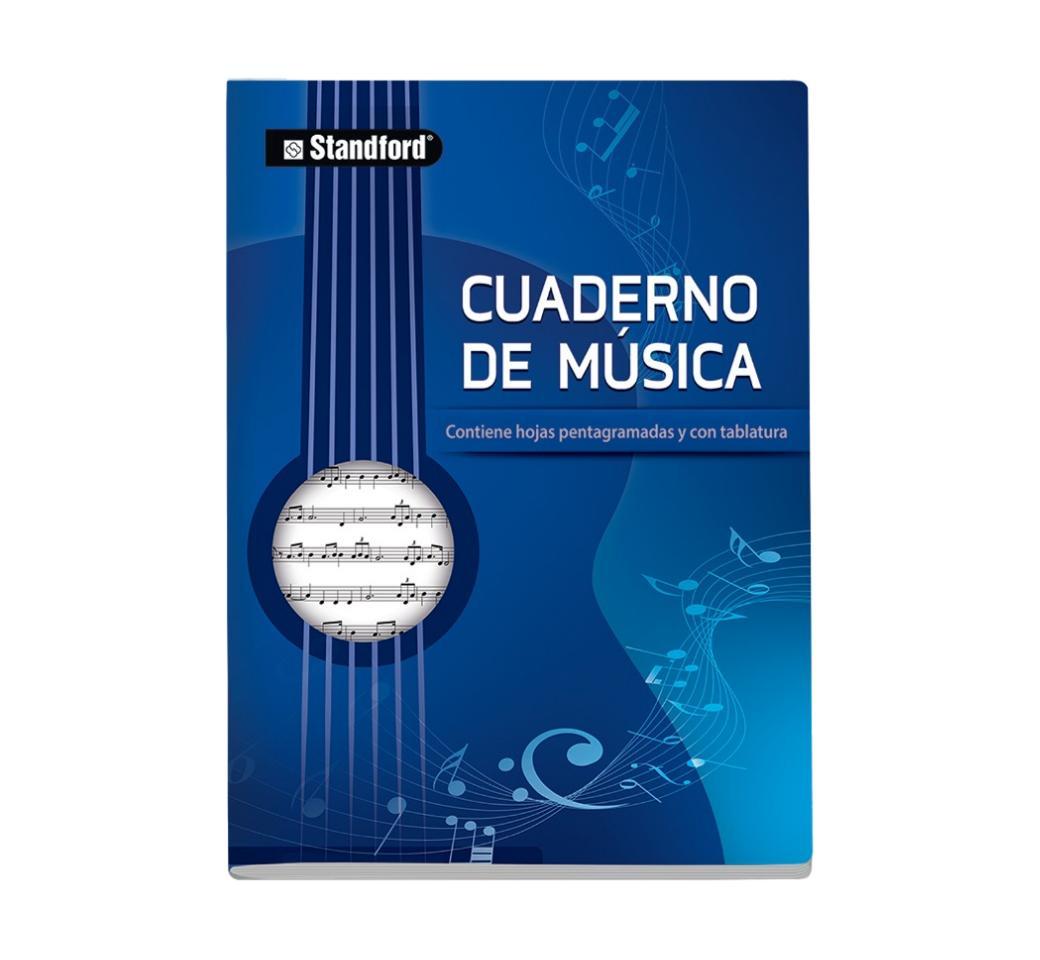 Cuaderno de Musica A-4 48 Hjs Standford