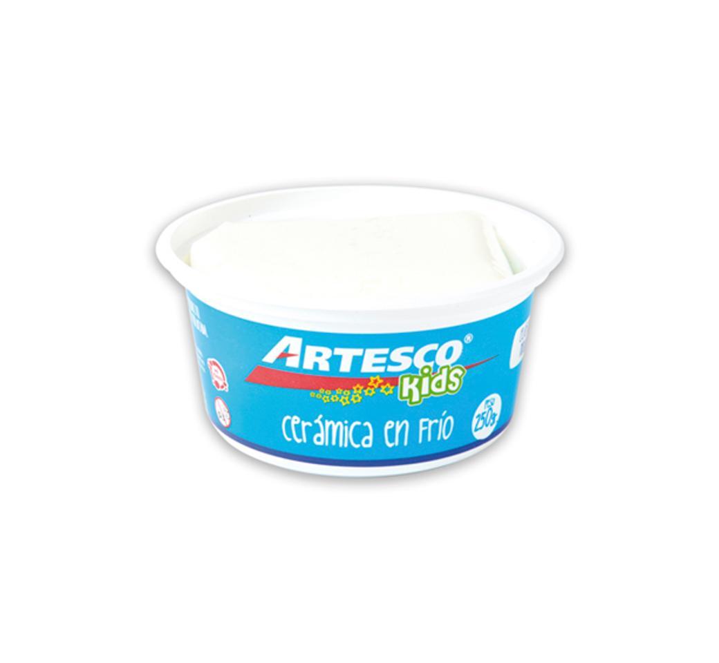 Cerámica Frío x 250 gr Blanco Pote Artesco