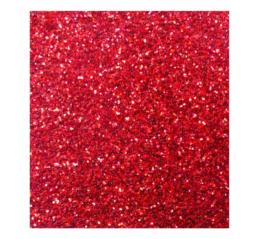 Papel Escarchado 50 x 65 cm Rojo Unid. Standford
