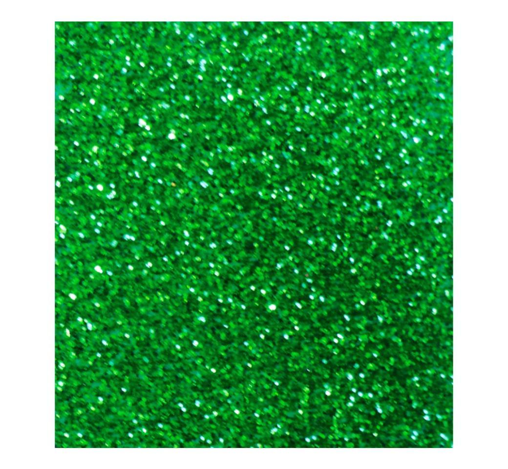 Goma Eva Escarchado Verde 50 x 70 cm Unid. Mylano