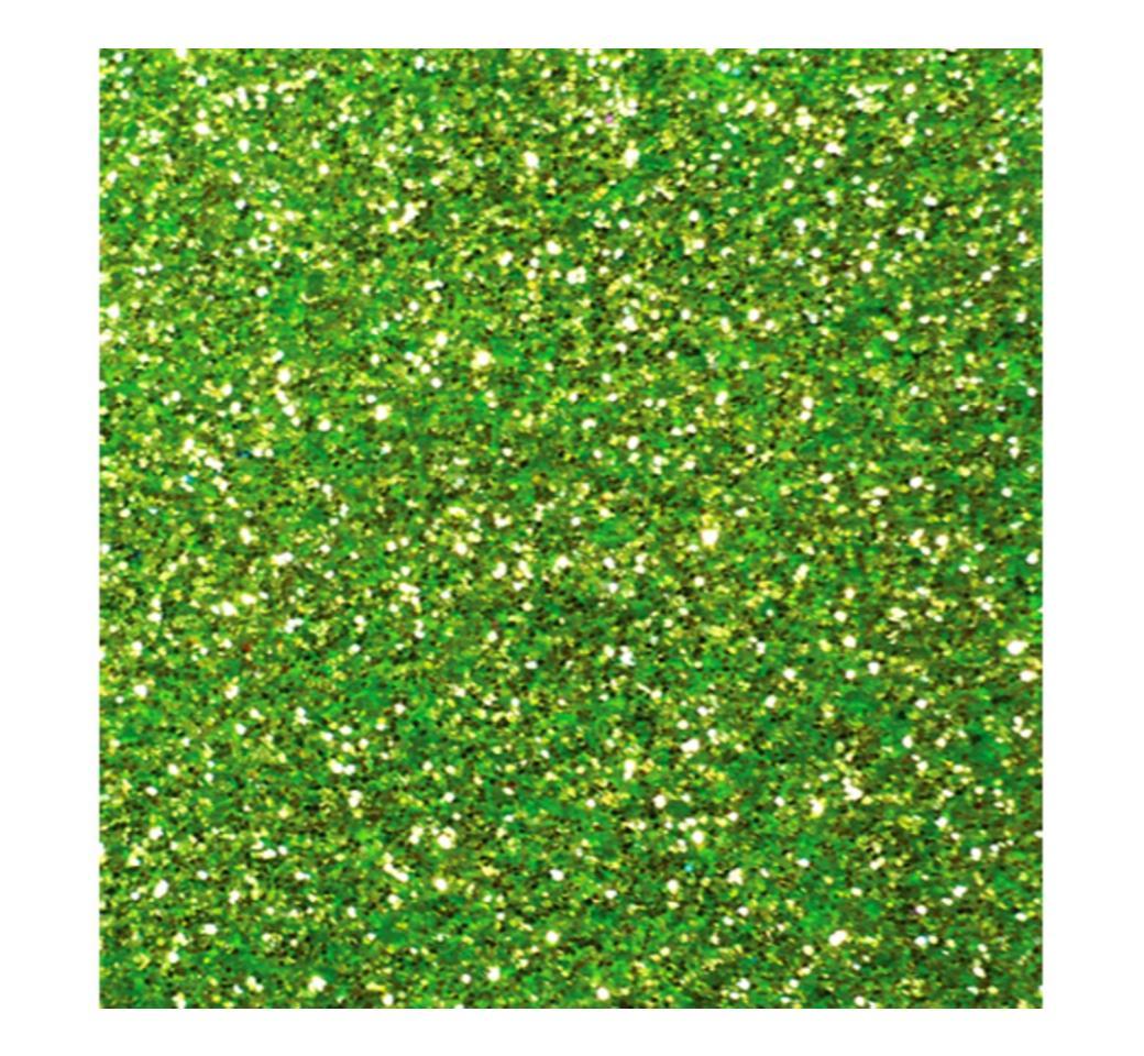 Goma Eva Escarchado Verde Claro 50 x 70 cm Unid. Mylano