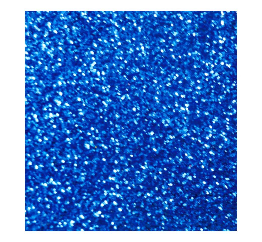 Goma Eva Escarchado Azul Oscuro 50 x 70 cm Unid. Mylano