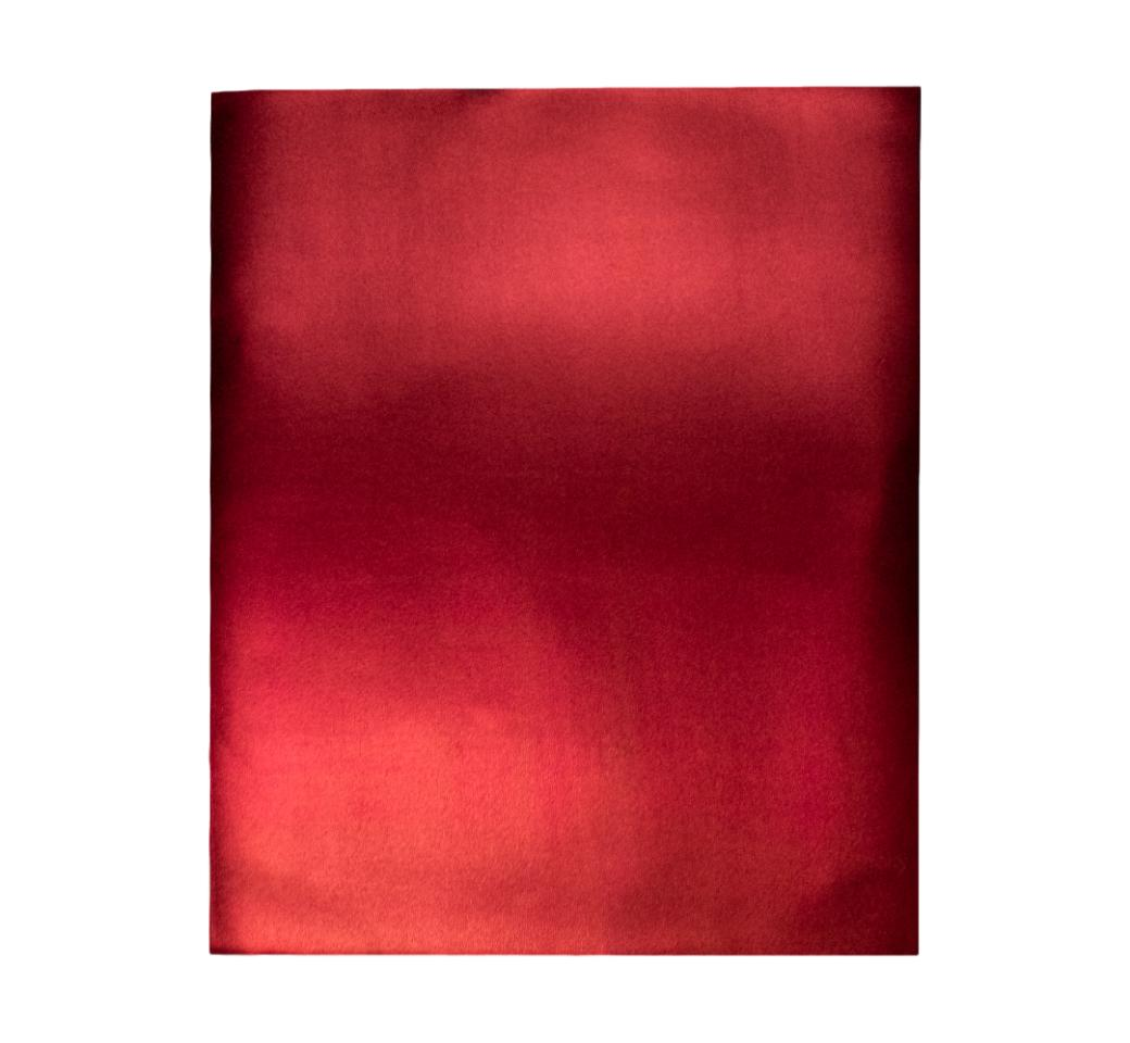 Goma Eva Metálico Rojo  50 x 70 cm Unid. Mylano