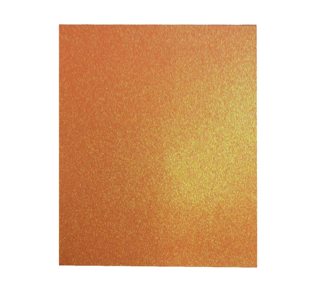 Goma Eva Escarchado Naranja 50 x 70 cm Unid. Mylano