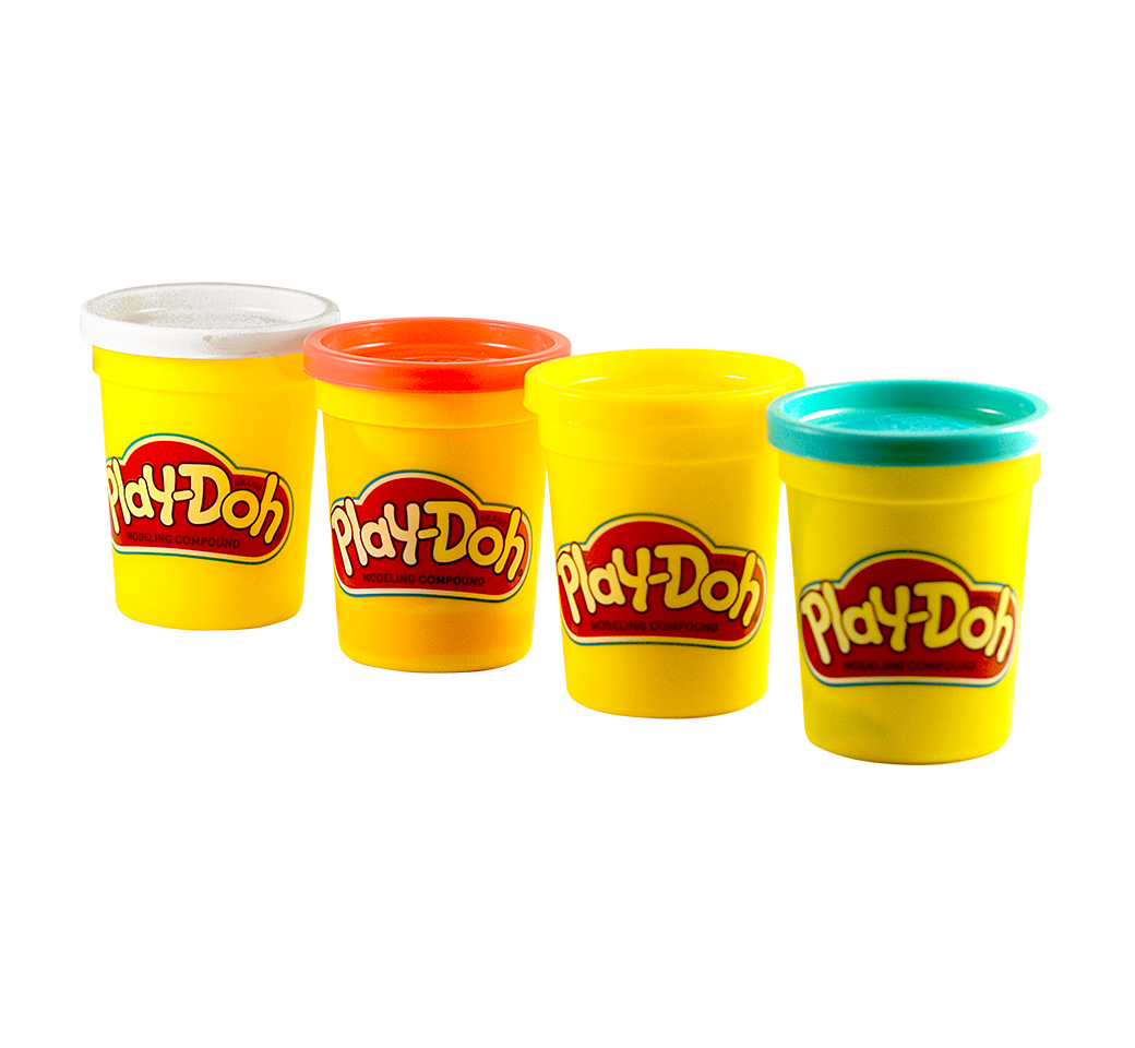 Play Doh Paquete x 4