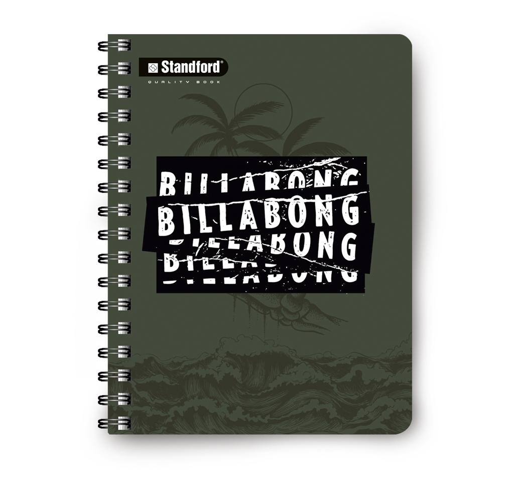 Cuaderno Anillado Billabong Night A4 x 160 Hojas Standford
