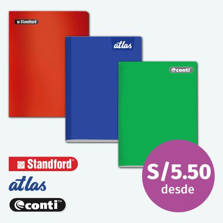 Los mejores cuadernos con 10% dscto