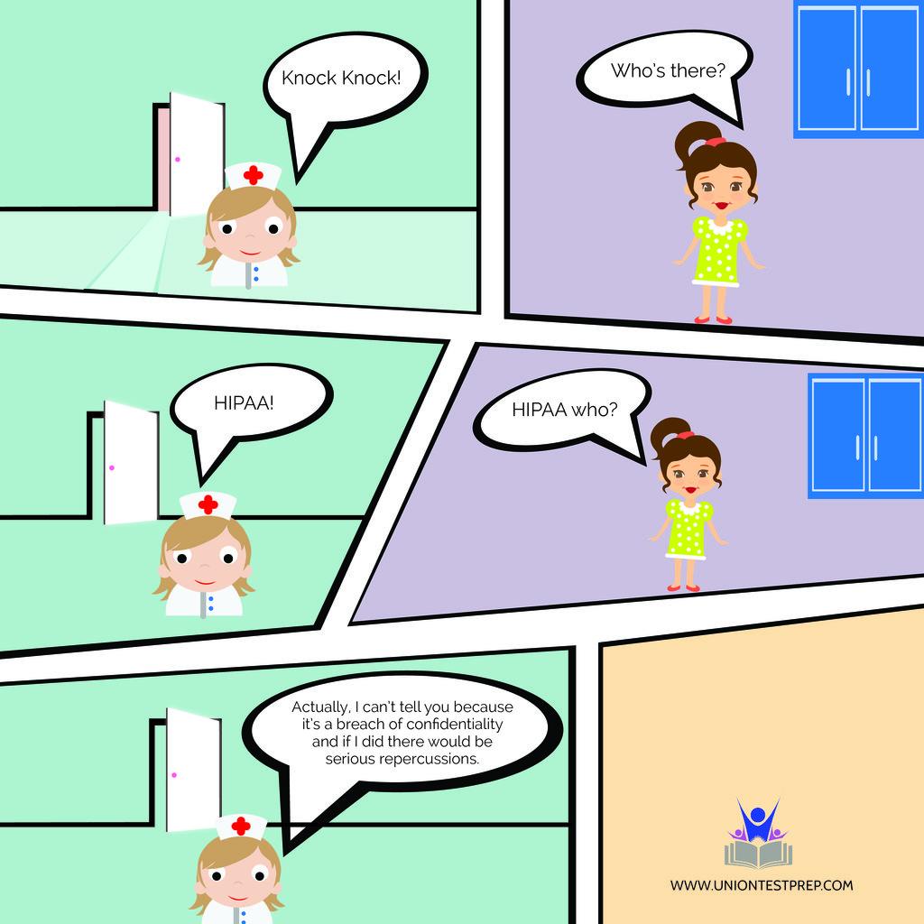 A Nursing Knock Knock Joke