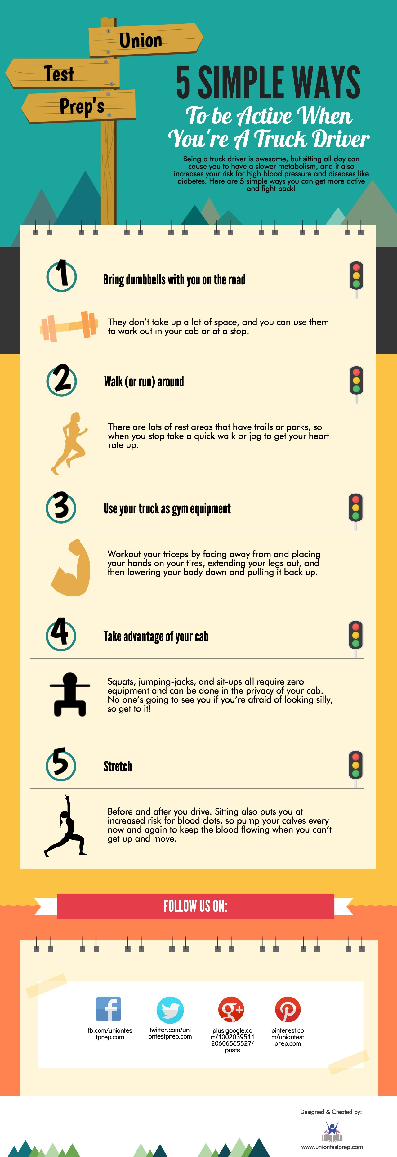 Ways to Be Active as a Truck Driver