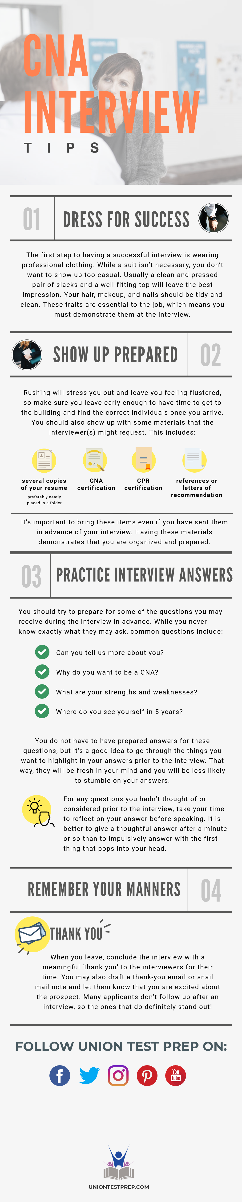 CNA Interview Tips