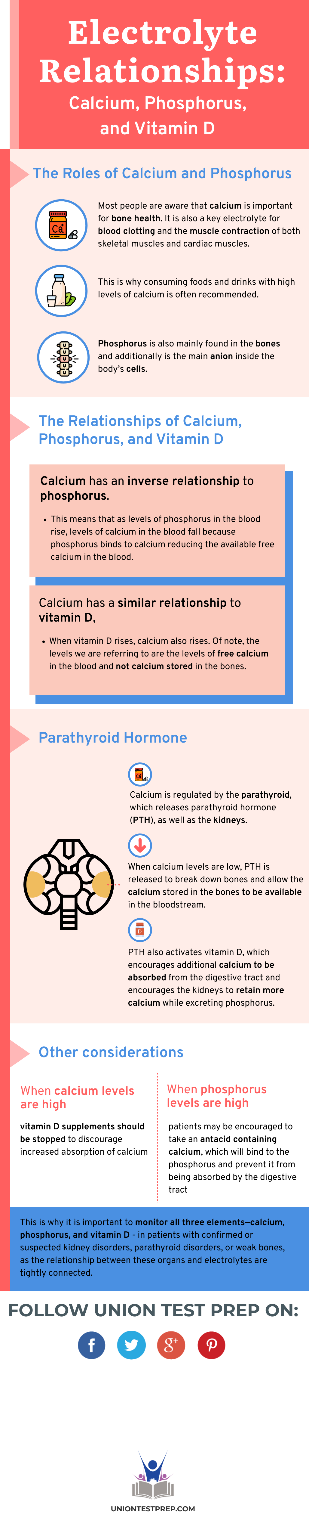 Electrolyte Relationships: Calcium, Phosphorus, and Vitamin D