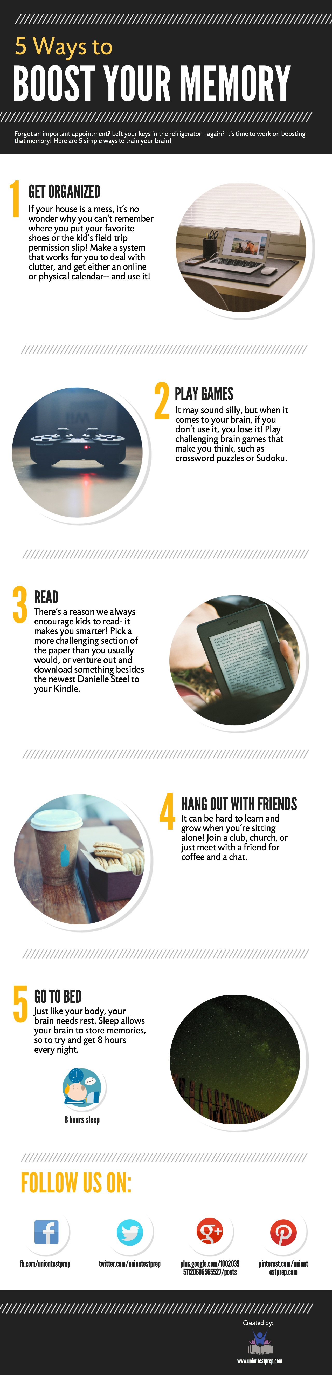 Tips to boost your memory
