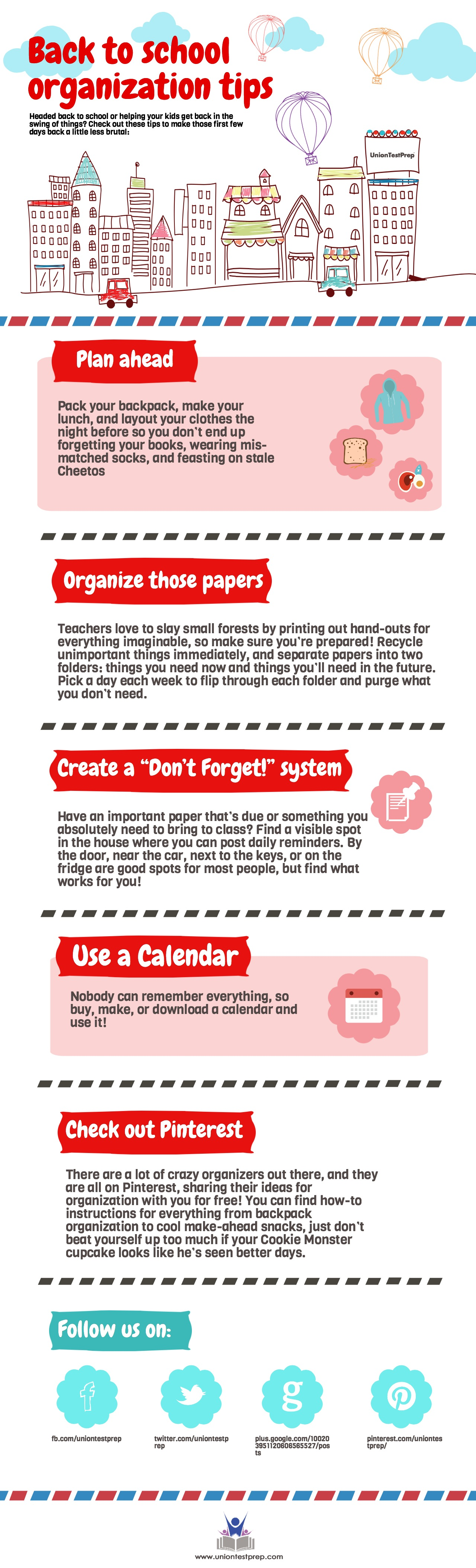 Ways to get organized for back-to-school