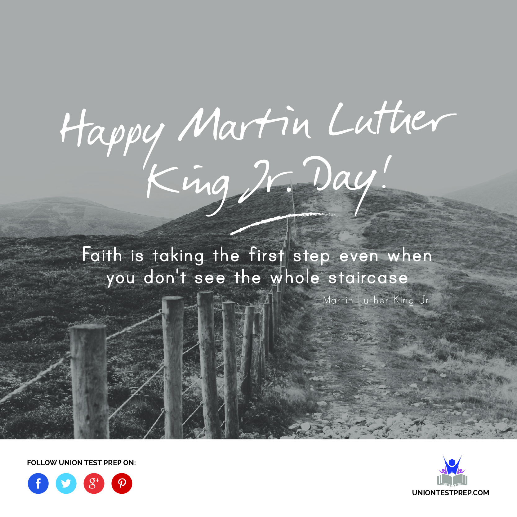 Quote from Martin Luther King Jr. about faith
