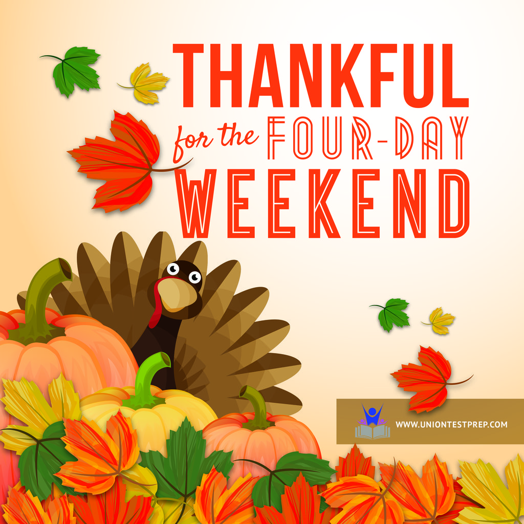 Four day Thanksgiving weekend poster
