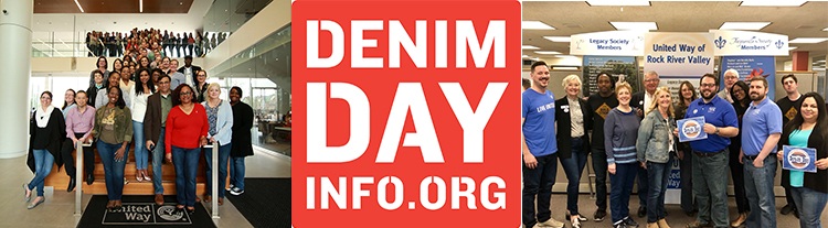 Support survivors of sexual assault during Sexual Assault Awareness Month. Participate in Denim Day April 24. #DenimDay #UWDenimDay