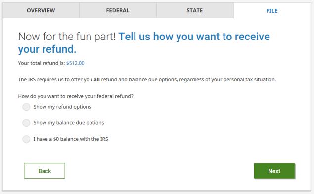 Refund Screenshot