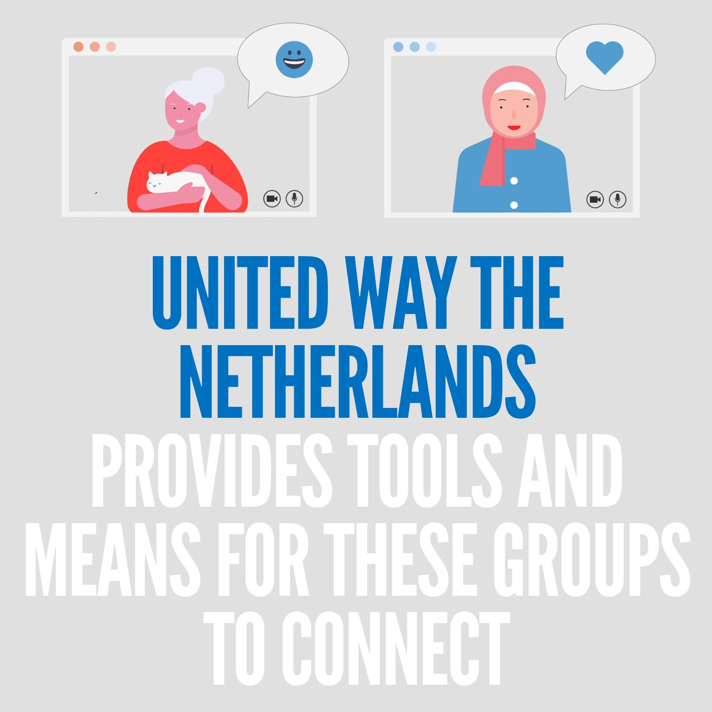 The goal of this creative program is to help the elderly and refugees learn and reintegrate into Dutch society by tackling social isolation.