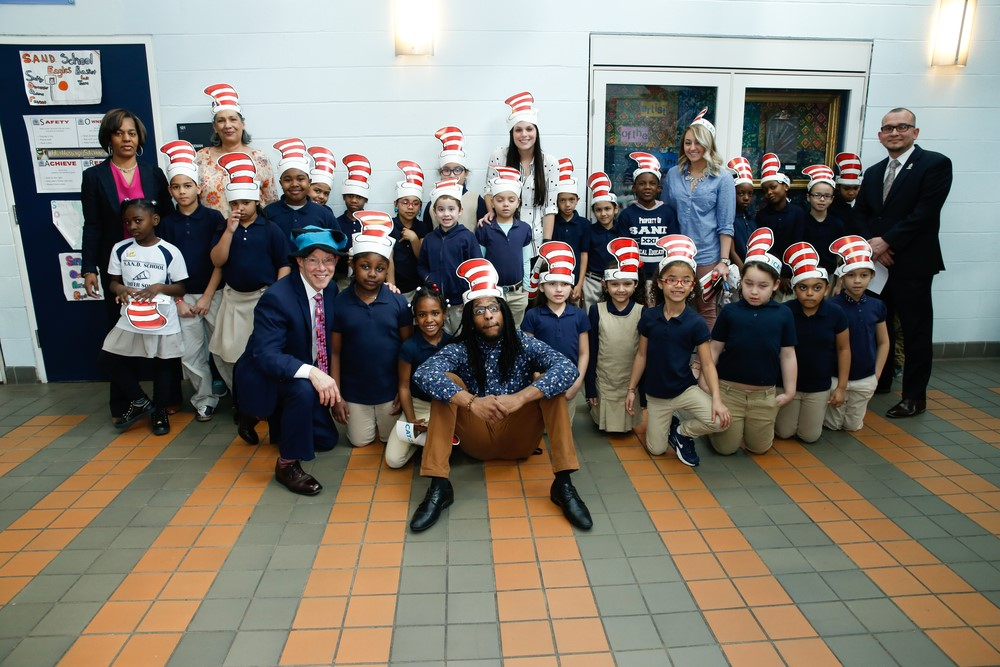 On Dr. Seuss Day, support literacy initiatives in your community, and help all children have positive places to go!