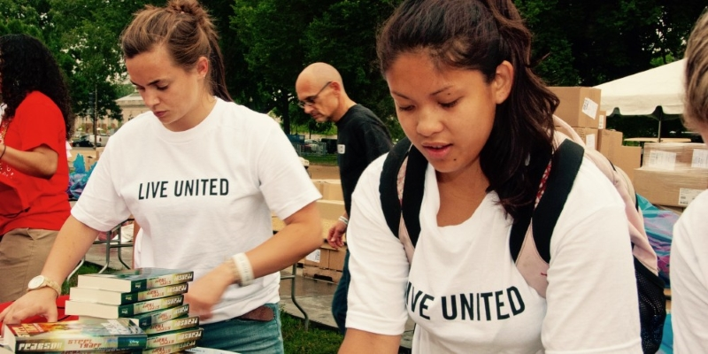 We're glad to be coming back together as volunteers, to help our communities and each other, on United Way's Day of Action.