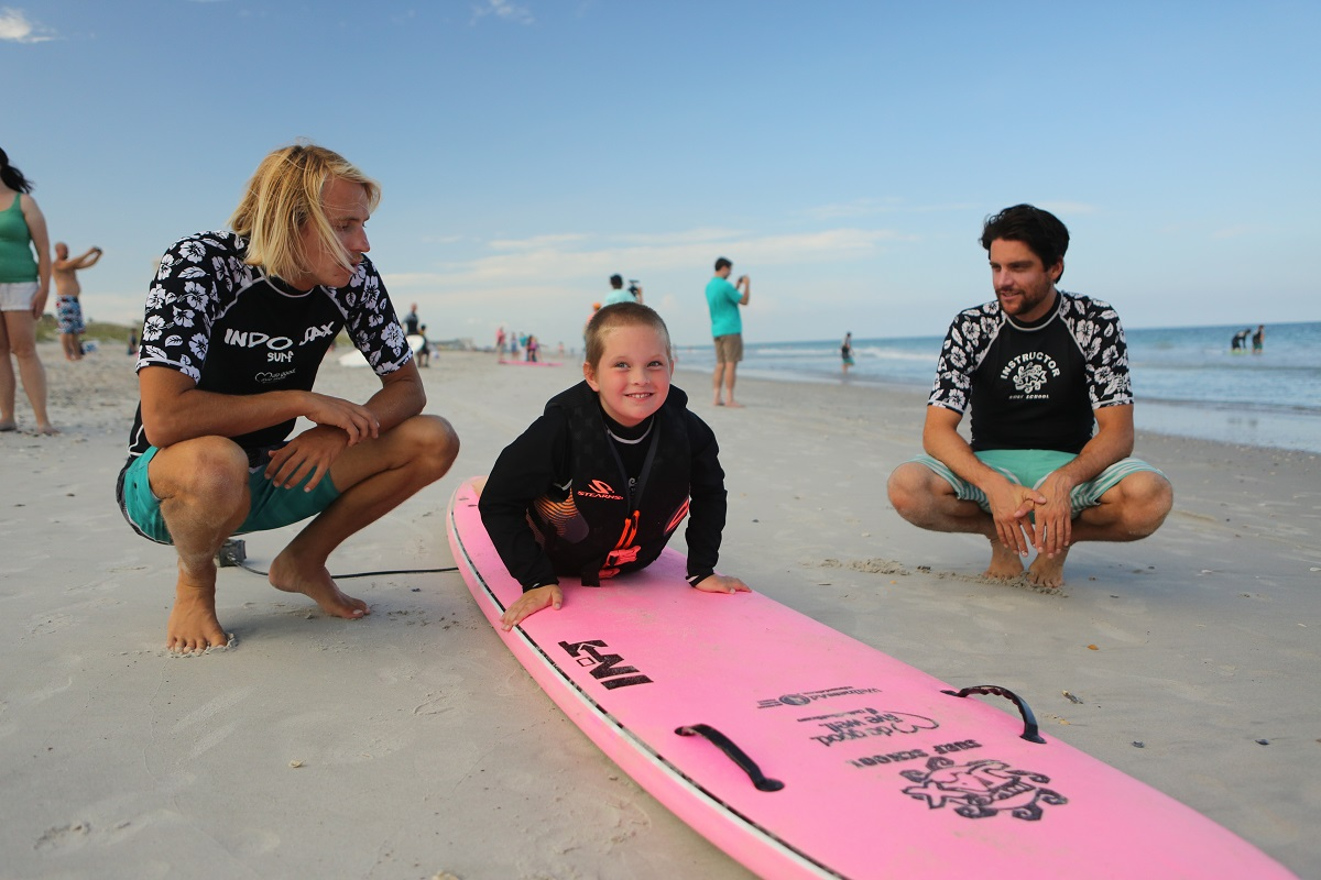 "Wilmington, NC surf camp that helps special needs children build self-esteem and learn life skills to be featured on ""The Hero Effect."""
