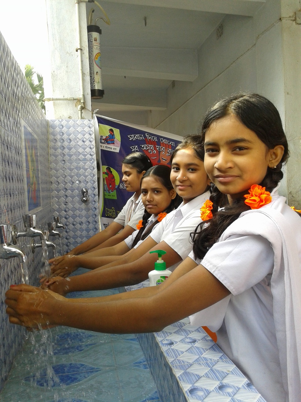 UW India uses clean sanitation facilities to keep girls in school, creating healthier communities.