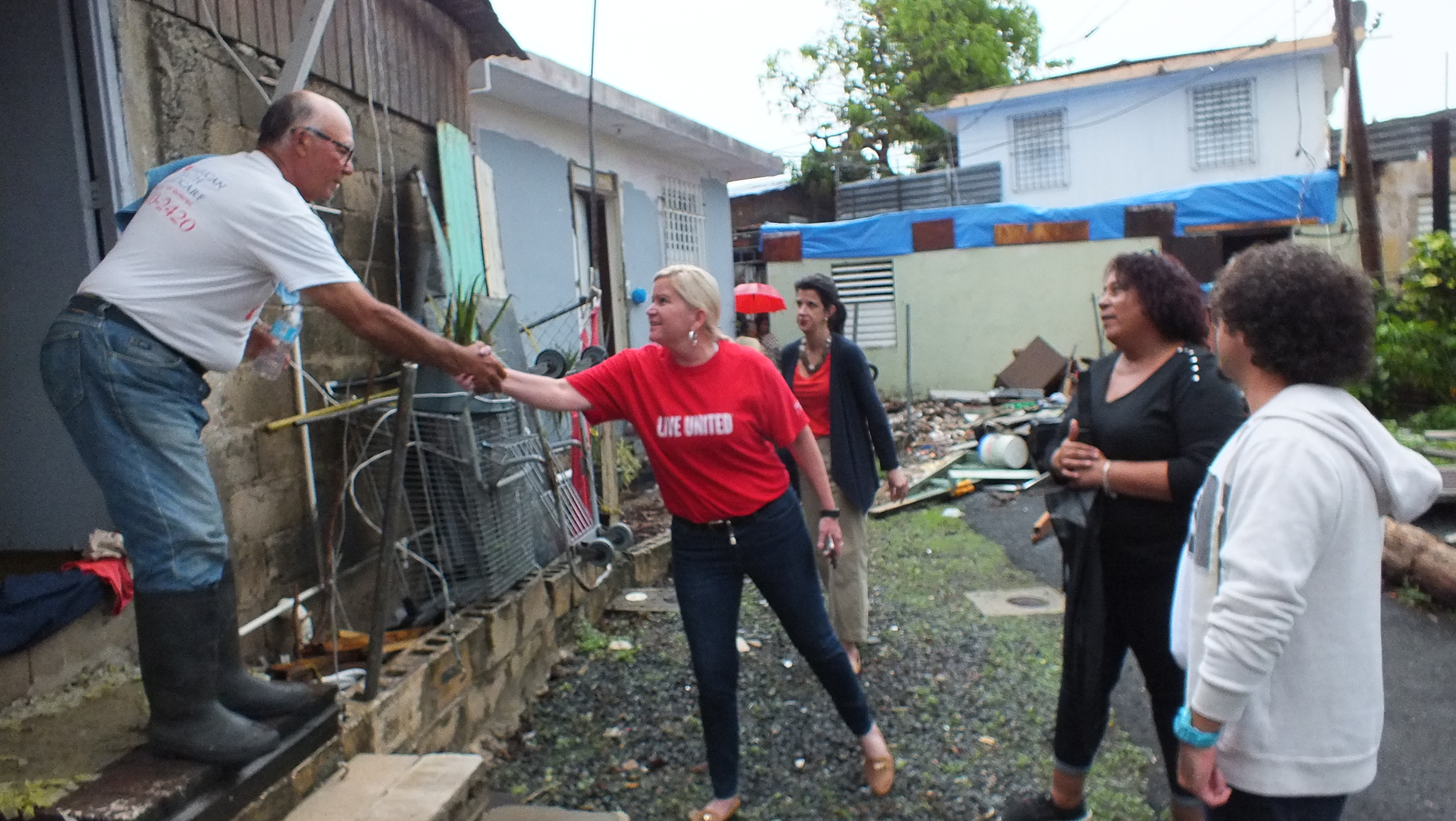Witness how local United Ways are bringing their communities together so they can move forward in the wake of the storm.