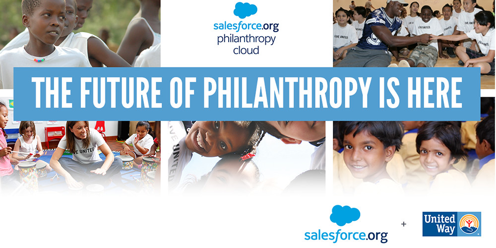 United Way and Salesforce.org have launched a new partnership to bring more people together to strengthen our communities.