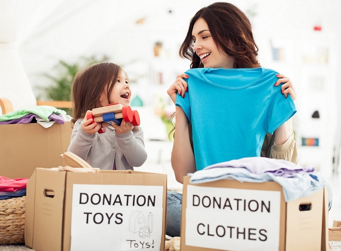 According to the U.S. Census Bureau, there are nearly 41 million people living in poverty, many of whom would love to have your gently used items.