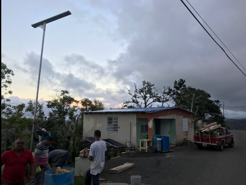 Hurricane Maria destroyed the homes of Puerto Rico, now they're rebuilding their spirit.