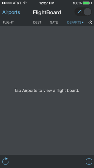 Flight board