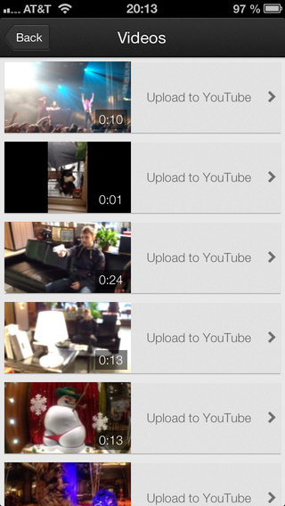 My video list