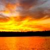 sun set at BWCA