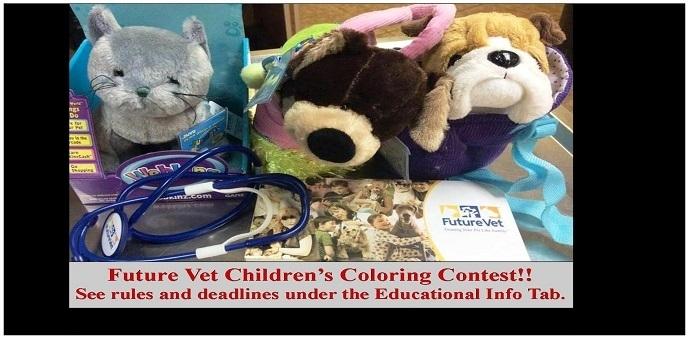 """""""future vet contest"""" """"veterinarian"""" """"children"""""""