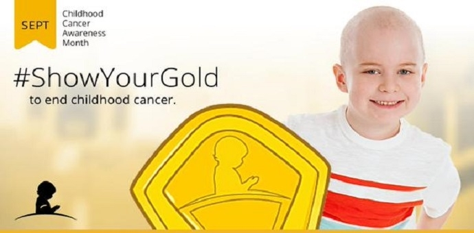 #showyourgold , Childhood Cancer, St. Jude