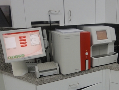 In Clinic Blood Analyzers