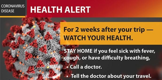 traveling health alert