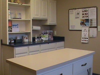 Small Patient Exam Rooms