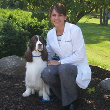 Dr. Theresa Schenkel and Caddy