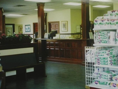 Front Desk ~ Reception Area