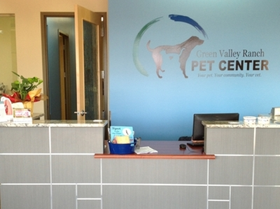 Green Valley Ranch Pet Center veterinary reception
