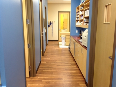 Hallway in Treatment Area