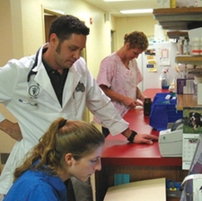 Dr. Trigilio and Jenna Scibilia