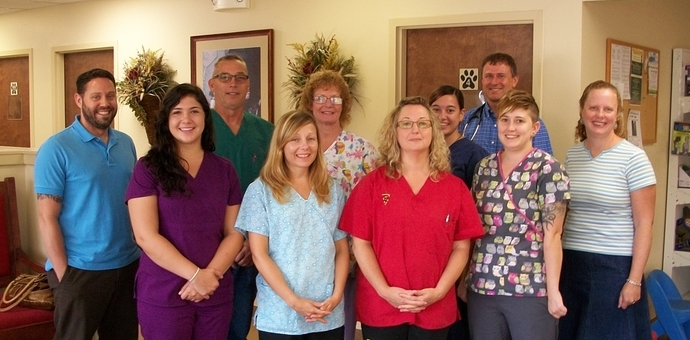 Staff of Millersville Animal Hospital