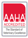 We're AAHA accredited!