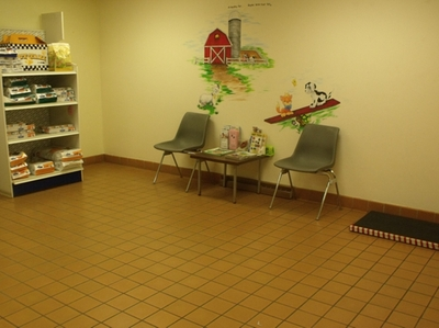 One of two waiting rooms