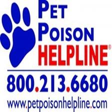 Pet Poison Help Line 800-213-6680