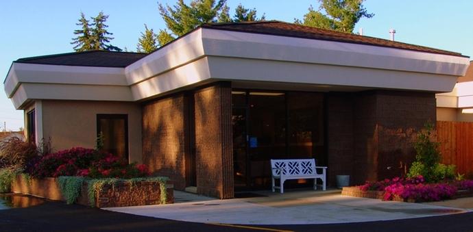 Big Rapids Vet Riversbend Animal Hospital Entrance