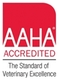 AAHA credited symbol and link to website