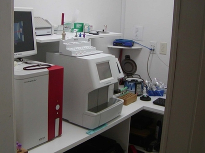 Laboratory Room with Procyte and Catalyst Dx